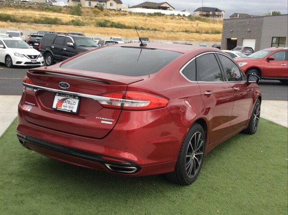 Used 2017 Ford Fusion in Pocatello, ID