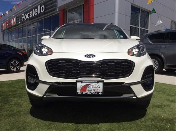 New 2020 KIA Sportage in Pocatello, ID