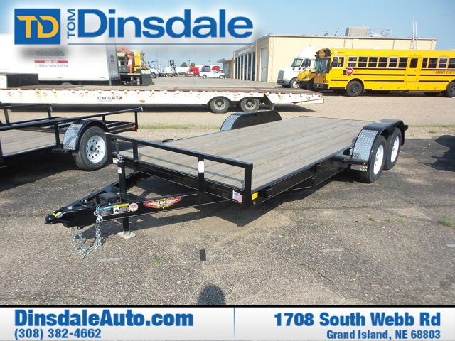 2018 H&H Trailers 8.5' x 16' Flatbed