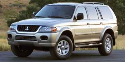 2002 Mitsubishi Montero Sport Limited photo
