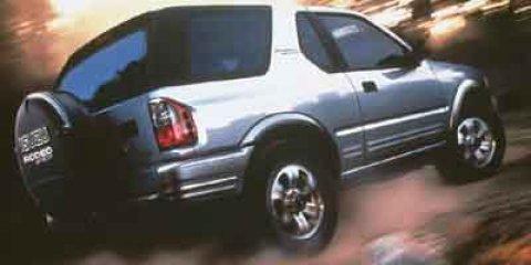 2002 Isuzu Amigo S