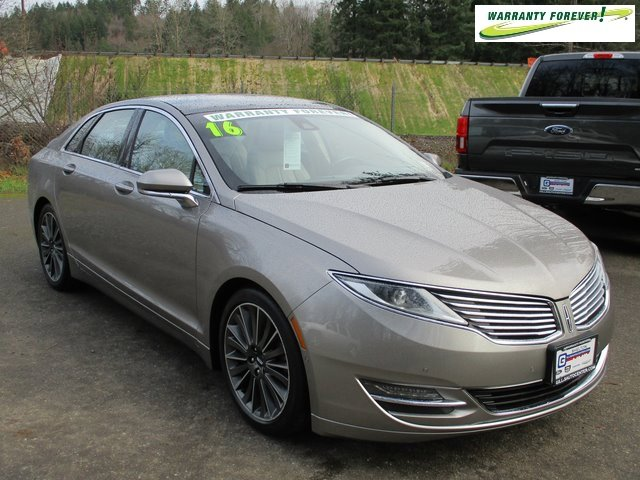 Used 2016 LINCOLN MKZ 4dr Sdn AWD