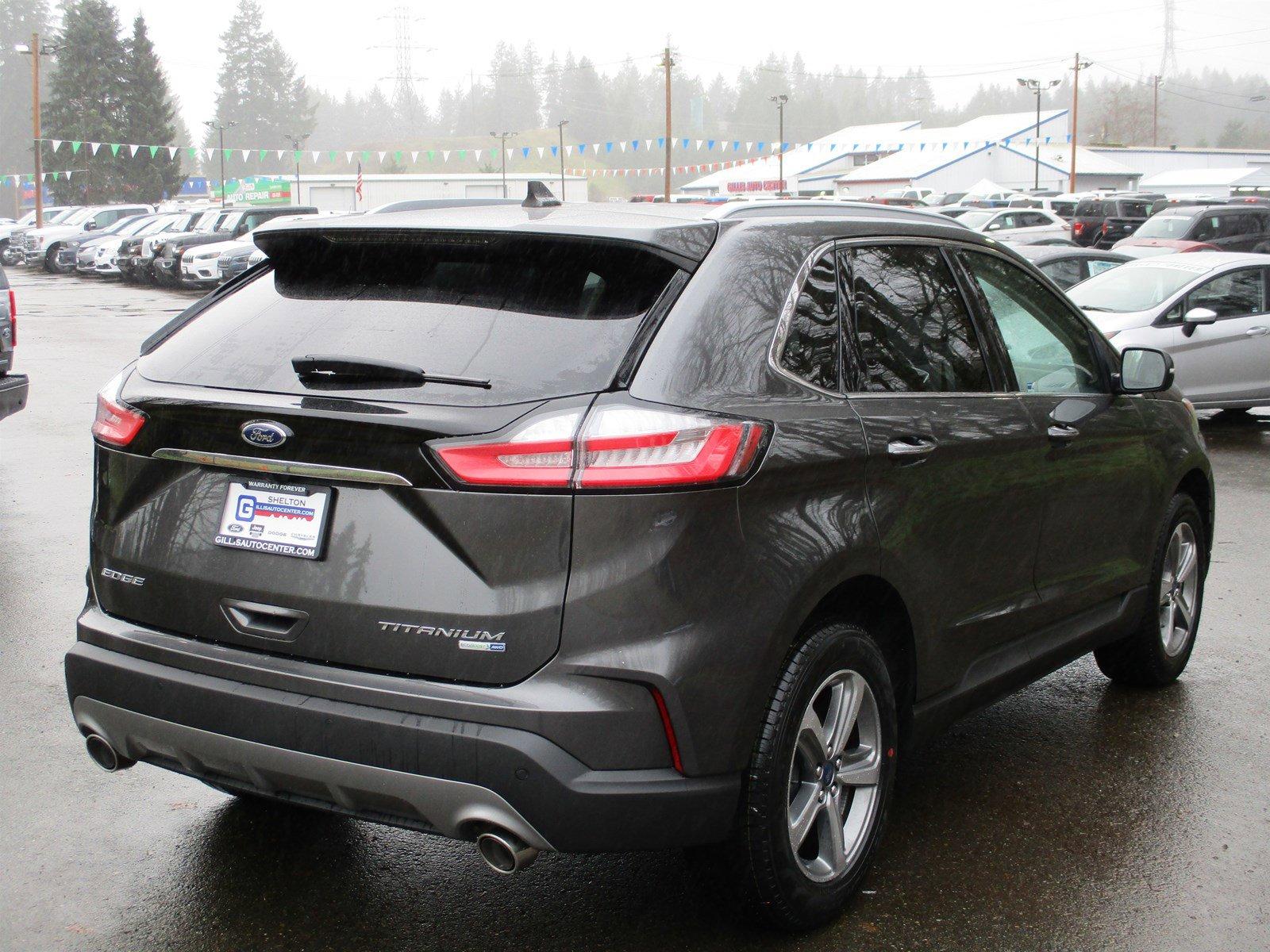 New 2020 Ford Edge Titanium AWD