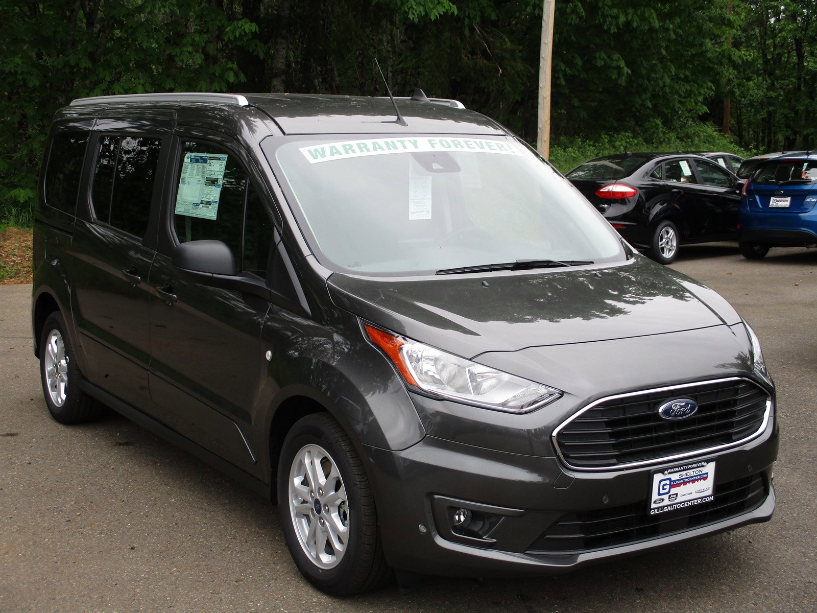 New 2019 Ford Transit Connect Wagon XLT LWB w-Rear Liftgate