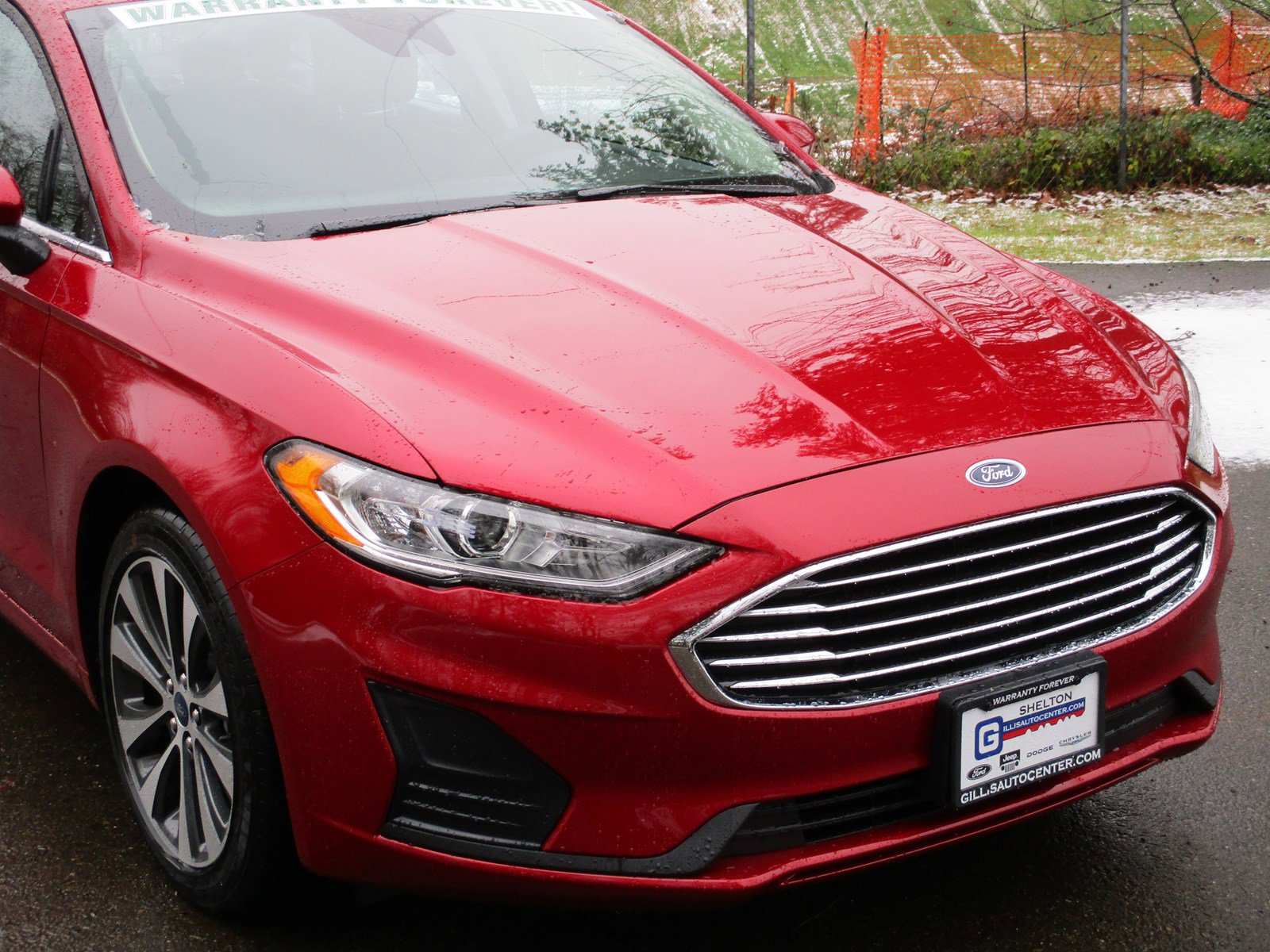 New 2020 Ford Fusion SE AWD