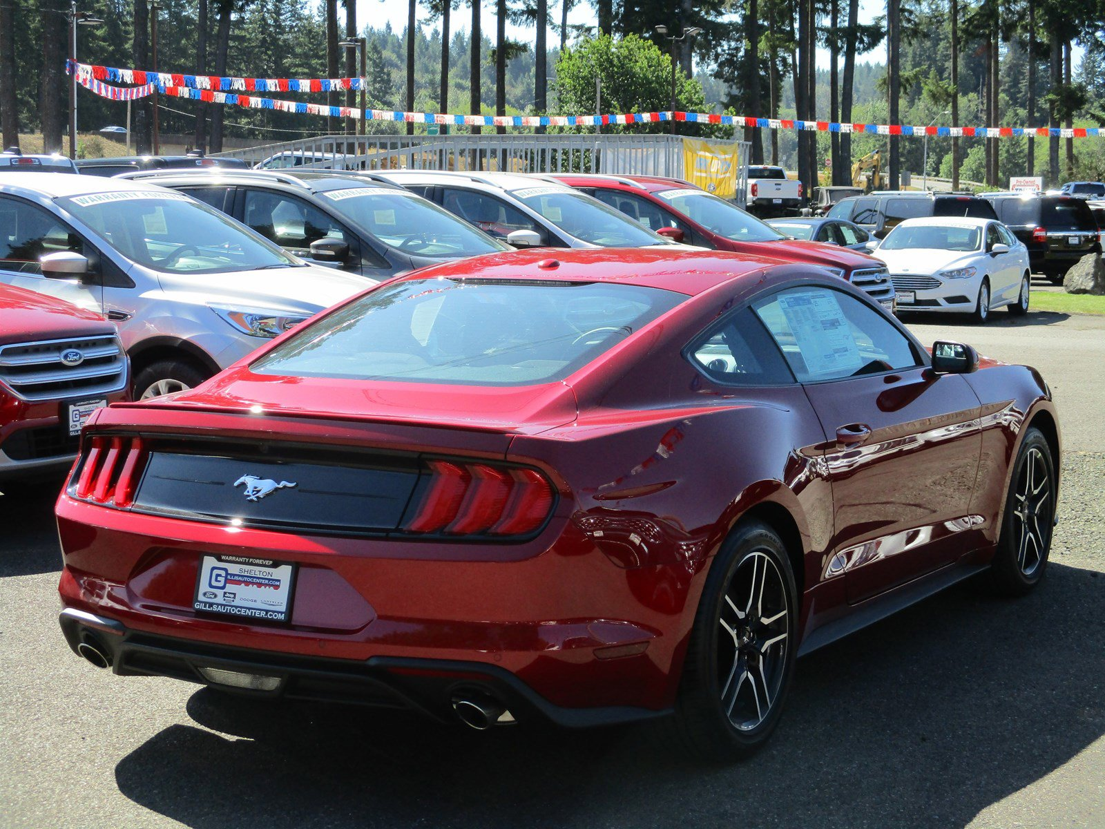 New 2019 Ford Mustang EcoBoost Fastback