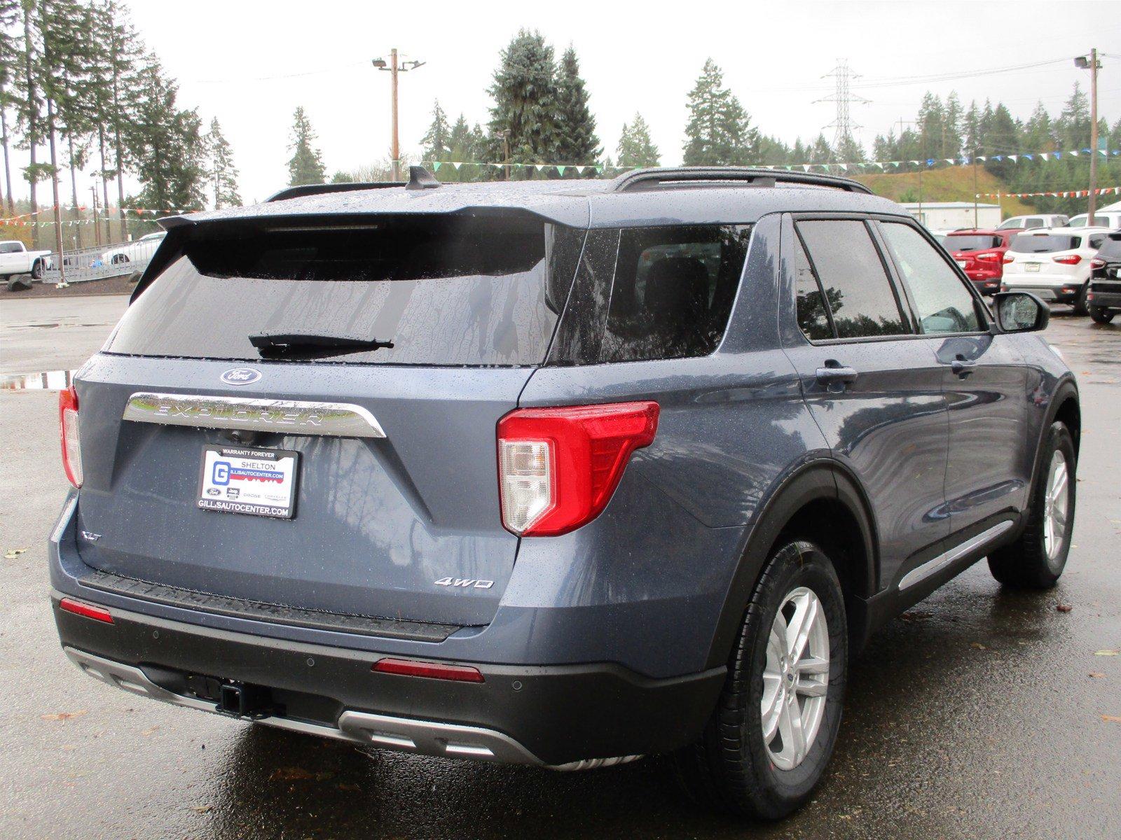 New 2021 Ford Explorer XLT 4WD