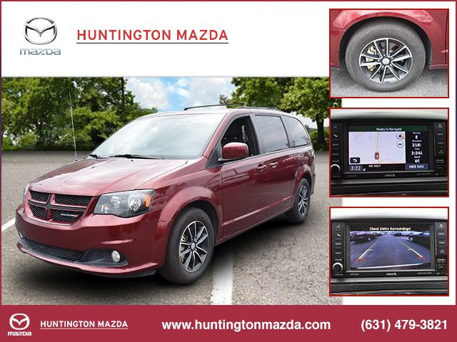 2018 Dodge Grand Caravan GT TRANSMISSION 6-SPEED AUTOMATIC 62TE  STD OCTANE RED PEARLCOAT BLAC