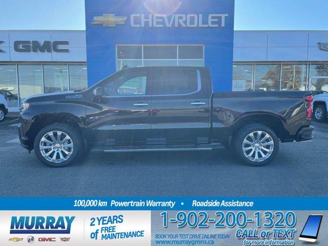 2021 Chevrolet Silverado 1500 High Country 4WD Crew Cab 147 Inch High Country Gas V8 6.2L/376 [0]