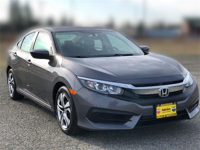 Used 2016 Honda Civic Sedan in Olympia, WA