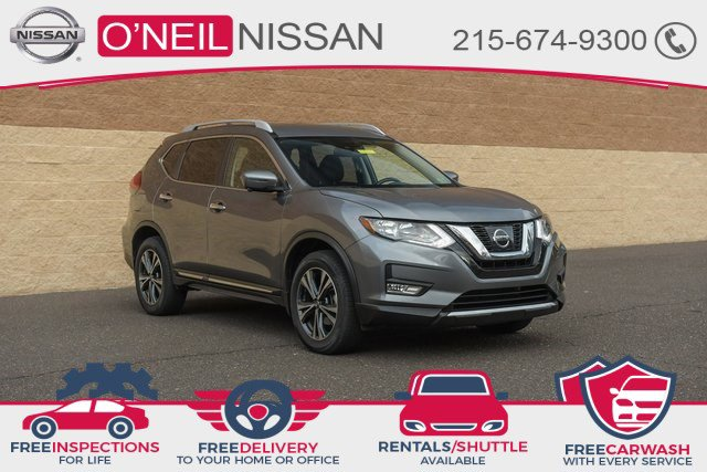 2017 Nissan Rogue SL 2017.5 AWD SL Regular Unleaded I-4 2.5 L/152 [7]