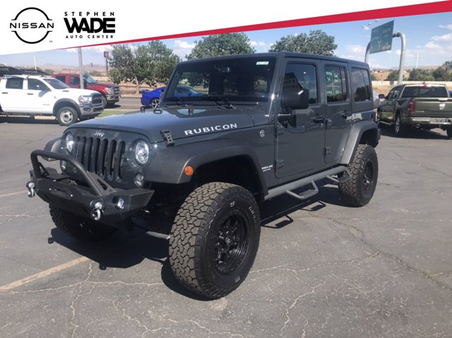 Used 2017 Jeep Wrangler Rubicon