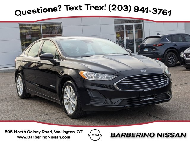 2019 Ford Fusion Hybrid SE SE FWD Gas/Electric I-4 2.0 L/122 [3]