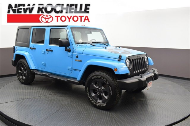 Used 2017 Jeep Wrangler Unlimited in New Rochelle, NY