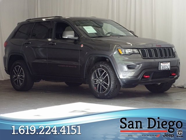 Used 2017 Jeep Grand Cherokee Trailhawk 4x4