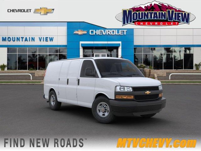 2020 Chevrolet Express Cargo Van Work Van RWD 3500 135″ Gas V6 4.3L/ [8]