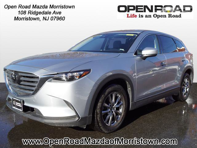 2019 Mazda CX-9 Touring BLACK  LEATHER-TRIMMED SEATS  -inc 1st and 2nd row outboard seating positi