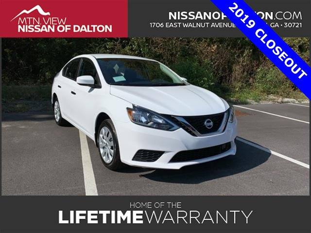 New 2019 Nissan Sentra in Dalton, GA