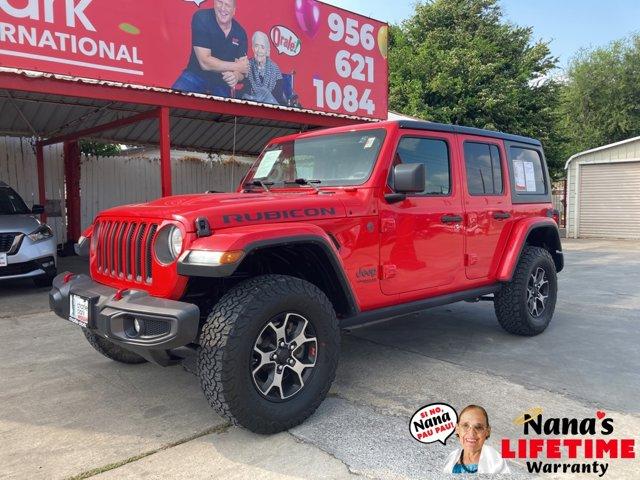2018 Jeep Wrangler Unlimited Rubicon Rubicon 4x4 Regular Unleaded V-6 3.6 L/220 [1]