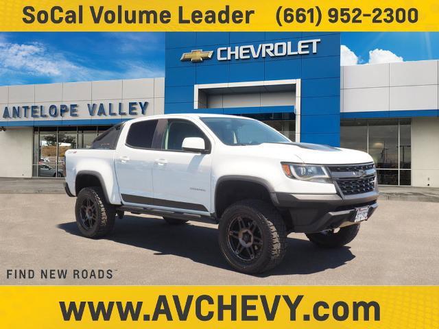 "2018 Chevrolet Colorado 4WD ZR2 4WD Crew Cab 128.3"" ZR2 Gas V6 3.6L/ [1]"