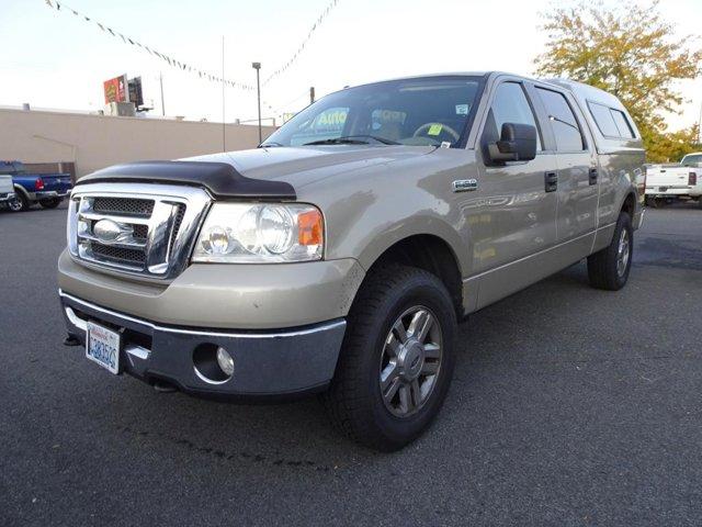 2008 Ford F-150 V8 5.4L 1/2 Ton 4x4 Crew Cab Pickup