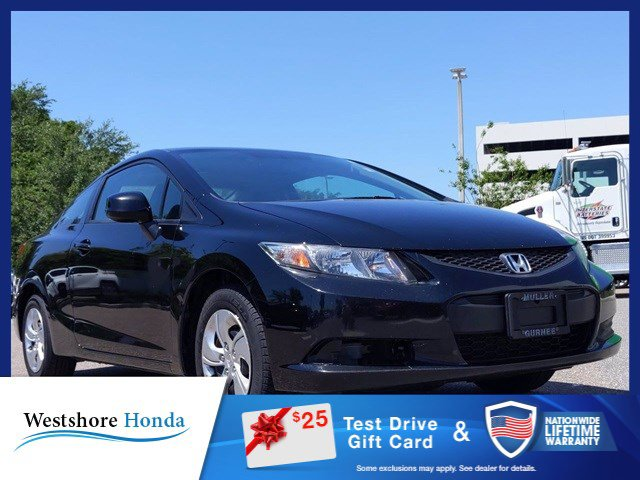 Used 2013 Honda Civic Cpe in Tampa, FL