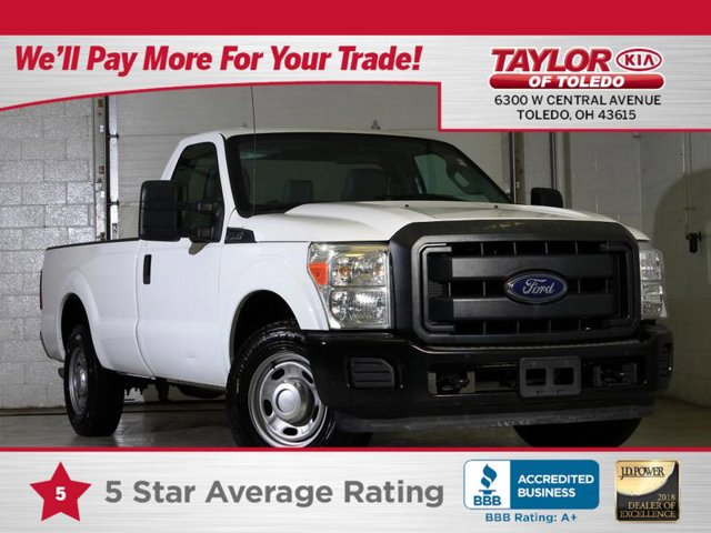 2015 Ford Super Duty F-250 SRW XL Rear Wheel Drive Tow Hitch Power Steering ABS 4-Wheel Disc Br