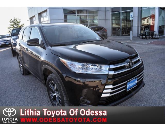 New 2019 Toyota Highlander in Odessa, TX