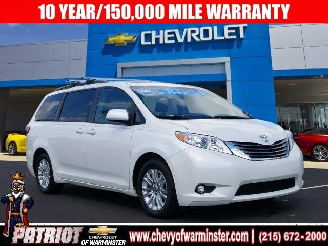 2017 Toyota Sienna XLE Front Wheel Drive Power Steering ABS 4-Wheel Disc Brakes Brake Assist A