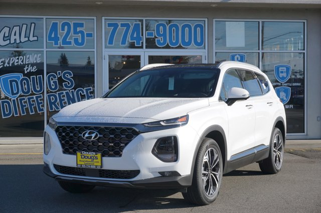 New 2020 Hyundai Santa Fe in Lynnwood Seattle Kirkland Everett, WA