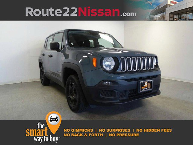 2017 Jeep Renegade Sport Sport 4x4 Regular Unleaded I-4 2.4 L/144 [18]