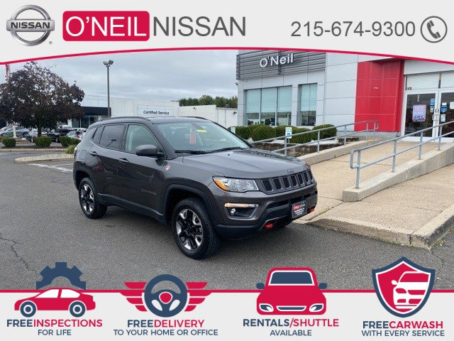 2018 Jeep Compass Trailhawk Trailhawk 4x4 Regular Unleaded I-4 2.4 L/144 [1]