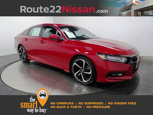 2018 Honda Accord Sedan Sport 1.5T Sport 1.5T CVT Intercooled Turbo Regular Unleaded I-4 1.5 L/91 [12]