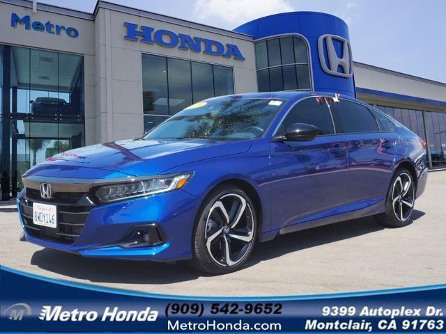 2021 Honda Accord Sedan Sport Sport 2.0T Auto Intercooled Turbo Regular Unleaded I-4 2.0 L/122 [15]