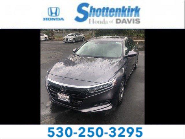 Used 2018 Honda Accord Sedan in Davis, CA