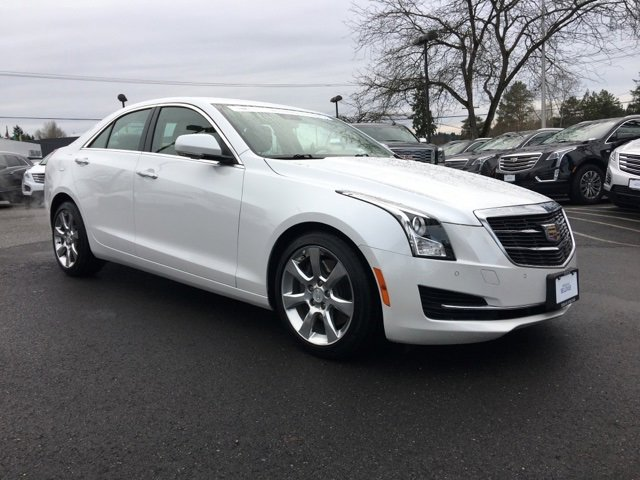 2015 Cadillac ATS Sedan 4dr Sdn 3.6L Luxury RWD