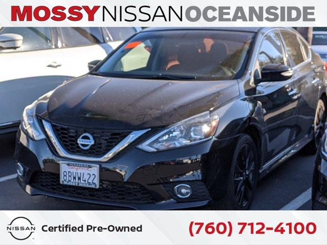 2017 Nissan Sentra SR SR CVT Regular Unleaded I-4 1.8 L/110 [12]