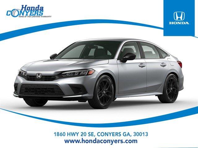 2022 Honda Civic Sedan Sport Sport CVT Regular Unleaded I-4 2.0 L/122 [17]