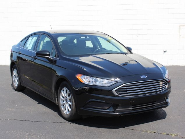 2017 Ford Fusion S Front Wheel Drive Power Steering ABS 4-Wheel Disc Brakes Brake Assist Brake