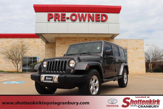 Used 2014 Jeep Wrangler Unlimited in Granbury, TX