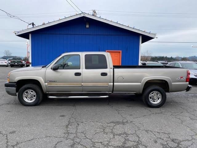Used 2003 Chevrolet Silverado 2500HD Crew Cab 167 WB 4WD LT