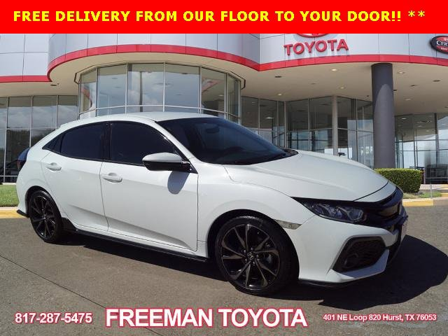 Used 2017 Honda Civic Hatchback in Hurst, TX