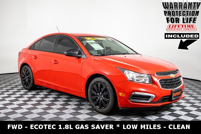 Used 2016 Chevrolet Cruze Limited in Sumner, WA