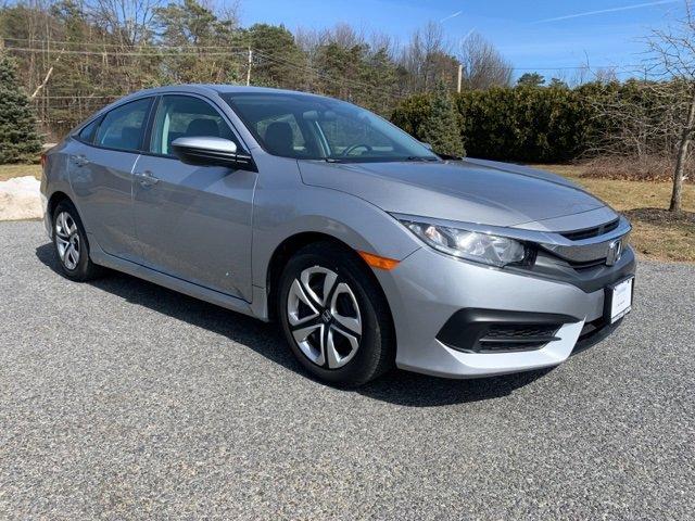 Used 2017 Honda Civic Sedan in Saratoga Springs, NY