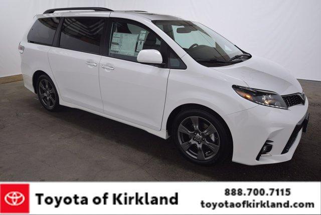 New 2020 Toyota Sienna in Kirkland, WA