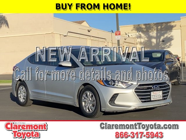 2017 Hyundai Elantra SE SE 2.0L Auto (Alabama) *Ltd Avail* Regular Unleaded I-4 2.0 L/122 [14]