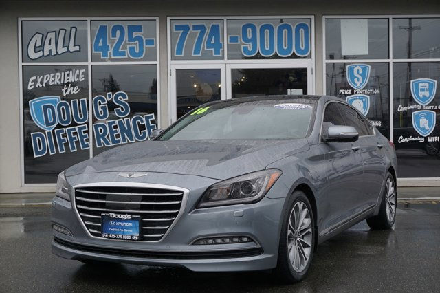 Used 2016 Hyundai Genesis in Lynnwood Seattle Kirkland Everett, WA