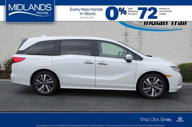 2021 Honda Odyssey Touring Touring Auto Regular Unleaded V-6 3.5 L/212 [2]