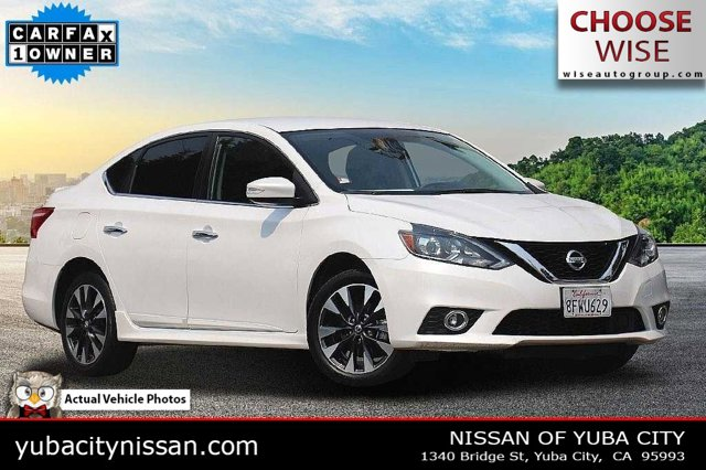 2019 Nissan Sentra SR SR CVT Regular Unleaded I-4 1.8 L/110 [6]