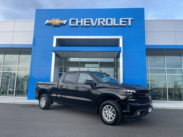 2021 Chevrolet Silverado 1500 4WD Crew Cab 157 RST